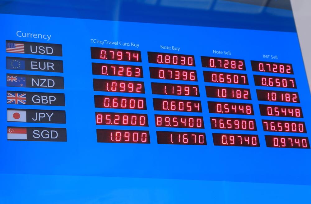 レート オーストラリア 為替